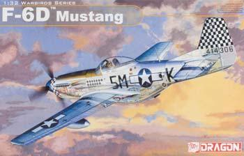 plastic airplane model,model planes,F-6D MUSTANG 1-32