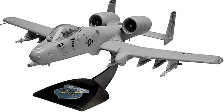 plastic airplane model kit,scale model aircraft,A-10 Warthog -- Snap Tite Plastic Model Aircraft Kit -- 1/72 Scale -- #851181