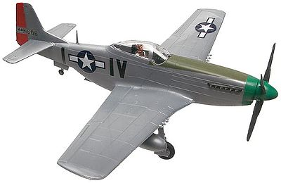 plastic airplane model kit,scale model aircraft,P-51D Mustang -- Snap Tite Plastic Model Aircraft Kit -- 1/72 Scale -- #851374