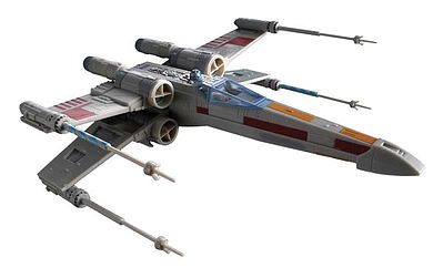 plastic airplane model kit,scale model aircraft,Star Wars X-Wing Fighter -- Snap Tite Plastic Model Spacecraft Kit -- #851856