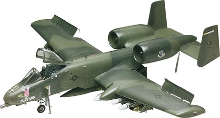 model airplane,model planes,A-10 Warthog -- Plastic Model Airplane Kit -- 1/48 Scale -- #855521