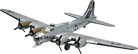 model planes,model airplane,B-17G Flying Fortress -- Plastic Model Airplane Kit -- 1/48 Scale -- #855600