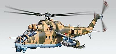 model helicopters,model helicopter,MiL24 Hind -- Plastic Model Helicopter Kit -- 1/48 Scale -- #855856
