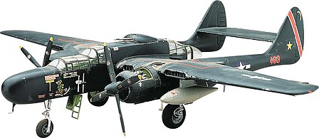 plastic airplane model,model planes,P-61 Black Widow -- Plastic Model Airplane Kit -- 1/48 Scale -- #857546