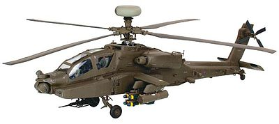 model helicopter,model helicopters,Apache AH-64 D British/US Army -- Plastic Model Helicopter Kit -- 1/48 Scale -- #04420