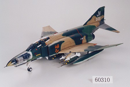 plastic airplane model,model planes,F-4E Phantom II Jet Plane Aircraft -- Plastic Model Airplane Kit -- 1/32 Scale -- #60310