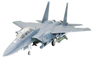model planes,plastic airplane model,USAF F-15E Strike Eagle w/Bunker Buster Jet -- Plastic Model Airplane Kit -- 1/32 Scale -- #60312