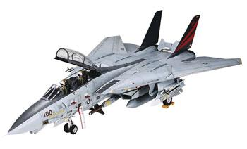 plastic airplane model,model planes,Grumman F-14A Tomcat Black Knight Jet Aircraft -- Plastic Model Airplane Kit -- 1/48 Scale -- #37006