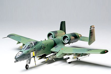 model airplane,plastic airplane model,A-10 Thunderbolt II -- Plastic Model Airplane Kit -- 1/48 Scale -- #61028