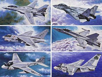 airplane model kits,US Navy Aircraft #1 -- Plastic Model Airplane Kit -- 1/350 Scale -- #78006