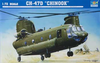 model helicopter,model helicopters,CH-47D Chinook Helicopter -- Plastic Model Helicopter -- 1/72 Scale -- #01622